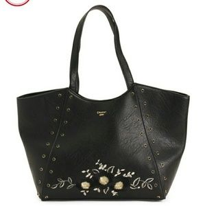 DUNE LONDON  Floral Embroidered Tote